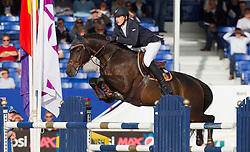Philippaerts Nicola (BEL) - Carlos VHPZ<br /> Belgisch Kampioenschap Jumping - Lanaken 2011<br /> © Dirk Caremans