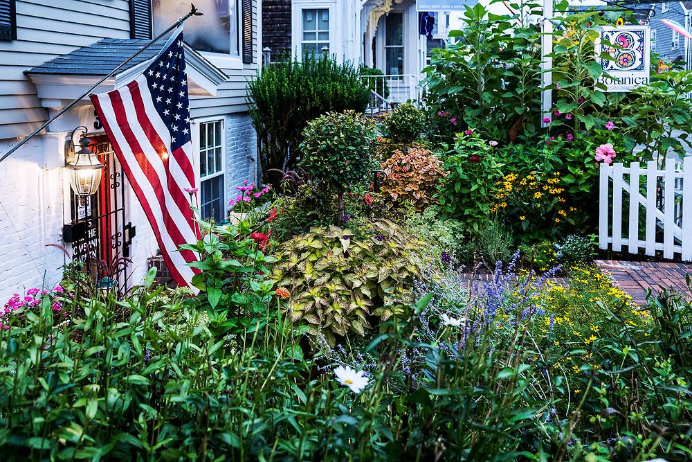 Quaint botanical shop in Provincetown, Cape Cod, Massachusetts,, USA