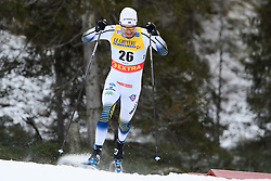 November 24, 2018 - Ruka, FINLAND - 181124 Karl-Johan Westberg of Sweden competes in the men's sprint classic technique prologue during the FIS Cross-Country World Cup premiere on November 24, 2018 in Ruka  (Credit Image: © Carl Sandin/Bildbyran via ZUMA Press)