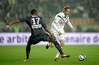 FOOTBALL - FRENCH CHAMPIONSHIP 2009/2010 - L1 - PARIS SAINT GERMAIN v GIRONDINS BORDEAUX - 10/04/2010 - PHOTO JEAN MARIE HERVIO / DPPI - JAROSLAV PLASIL (BDX)