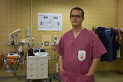 Paediatric nurse and aid worker Christian Schuh, of the Deutsches Rotes Kreuz (DRK - German Red Cross), Berlin, Germany.