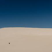 Little Sahara sand dune in Kangaroo Island.