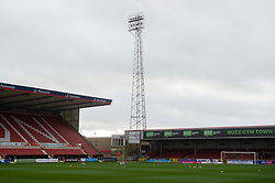 General view inside the County Ground  - Mandatory by-line: Alex James/JMP - 21/11/2020 - FOOTBALL - County Ground - Swindon, England - Swindon Town v Bristol Rovers - Sky Bet League One
