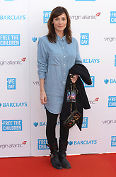 Natalie Imbruglia arriving at WE Day 2015, the SSE Arena, Wembley, London.<br />Photo Credit should read: Doug Peters EMPICS Entertainment