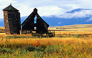 Old Barn near Red Lodge Montana