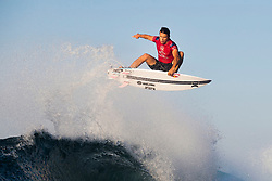 BALI, INDONESIA - MAY 19: Julian Wilson of Australia advances to Round 4 of the 2019 Corona Bali Protected after winning Heat 1 of Round 3 at Keramas on May 19, 2019 in Bali, Indonesia. (Photo by Matt Dunbar/WSL via Getty Images)