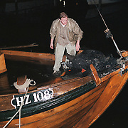 Brandstichting Huizer Botter Janus Kok haven van Huizen