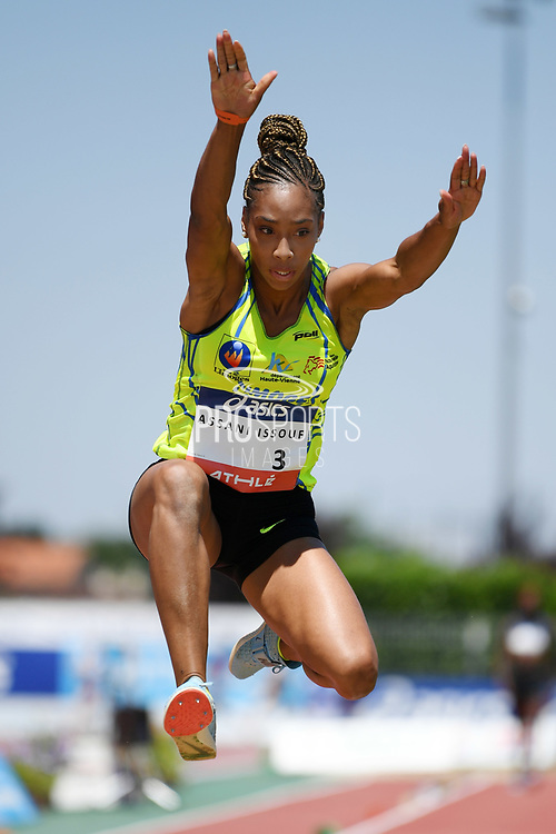 Jeanine Assani-Issouf competes in women triple jump during the Athletics French Championships 2018, in Albi, France, on July 8th, 2018 - Photo Philippe Millereau / KMSP / ProSportsImages / DPPI