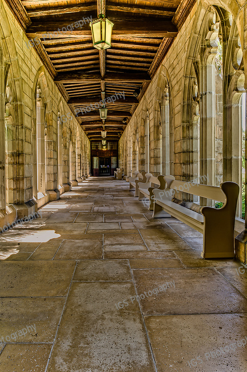 Cloisters at the Episcopal Church of Bethesda–by–the–Sea