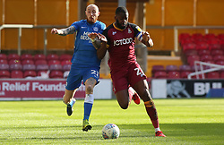 Marcus Maddison of Peterborough United in action with Hope Akpan of Bradford City - Mandatory by-line: Joe Dent/JMP - 09/03/2019 - FOOTBALL - Northern Commercials Stadium - Bradford, England - Bradford City v Peterborough United - Sky Bet League One