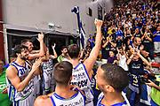 Team Banco di Sardegna Dinamo Sassari, Commando Ultra' Dinamo, Giacomo Devecchi<br /> Banco di Sardegna Dinamo Sassari - Carpegna Prosciutto VL Pesaro<br /> Legabasket LBA Serie A 2019-2020<br /> Sassari, 29/09/2019<br /> Foto L.Canu / Ciamillo-Castoria