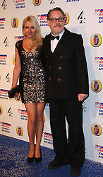 VIC REEVES and NANCY REEVES attends the British Comedy Awards at Fountain Studios, London, England, December 12, 2012. Photo by i-Images.