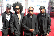 June 30, 2012-Los Angeles, CA : Recording Artists Mindless Behavior attend the 2012 BET Awards held at the Shrine Auditorium on July 1, 2012 in Los Angeles. The BET Awards were established in 2001 by the Black Entertainment Television network to celebrate African Americans and other minorities in music, acting, sports, and other fields of entertainment over the past year. The awards are presented annually, and they are broadcast live on BET. (Photo by Terrence Jennings)