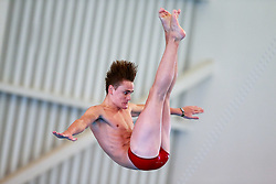 William Hallam from City of Leeds Diving Club competes during the Mens 3m Springboard Preliminary - Mandatory byline: Rogan Thomson/JMP - 23/01/2016 - DIVING - Southend Swimming & Diving Centre - Southend-on-Sea, England - British National Diving Cup Day 2.