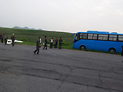 """EXCLUSIVE - Is this a never before seen look at NK's drone program<br /> <br /> These Exclusive images taken by a photographer while travelling on the Reunification Highway (between Pyongyang and Kaesong (DMZ) in North Korea during July 2015, the images show whats believed to be a drone during testing , the photographer who took and witnenssed said, <br />  <br /> """"Our vehicle was suddenly stopped by a man in a Military Uniform, and we were made to wait while what appeared to be a plane landed on the road in front of us"""" <br /> """"As it got closer it became evident that the plane was in fact a UAV"""" <br /> """"a number of the men were wearing military uniforms, and the nature of North Korea means it is reasonably safe to assume that these trials were either being conducted by, or on behalf of the military. <br /> It is also interesting to note that they may have been landing the drone on this highway due to a lack of sealed roads in NK""""<br /> <br /> The drones in the photos resemble one of the three drones that has been found crashed in South Korea, back in 2016<br /> ©Exclusivepix Media"""