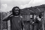 Burning Spear at home  - St Ann's Bay Jamaica 1978