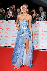 at the National Television Awards at the 02 Arena in London, UK. 23 Jan 2018 Pictured: Olivia Attwood. Photo credit: MEGA TheMegaAgency.com +1 888 505 6342