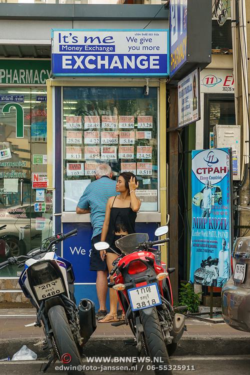 THA/Pattaya/20180722 - Vakantie Thailand 2018, Pattaya, money exchange