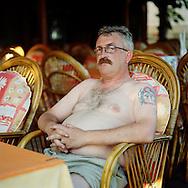 Norwegian tourist, Alanya, Turkey.<br /> Photo by Knut Egil Wang/Moment/INSTITUTE