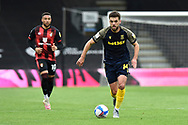 Tommy Smith (14) of Stoke City on the attack during the EFL Sky Bet Championship match between Bournemouth and Stoke City at the Vitality Stadium, Bournemouth, England on 8 May 2021.