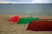 Łodzie na plazy, Hel<br /> Boats on beach, Hel