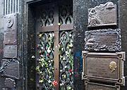 Eva Perons grave in Recoleta Cemmentary, Recoleta, Buenos Aires, Argentina.