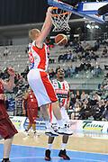 DESCRIZIONE : Torino Coppa Italia Final Eight 2012 Quarti Di Finale Scavolini Siviglia Pesaro Umana Venezia<br /> GIOCATORE : Tautvydas Lydeka<br /> CATEGORIA : schiacciata<br /> SQUADRA : Scavolini Siviglia Pesaro<br /> EVENTO : Suisse Gas Basket Coppa Italia Final Eight 2012<br /> GARA : Scavolini Siviglia Pesaro Umana Venezia<br /> DATA : 17/02/2012<br /> SPORT : Pallacanestro<br /> AUTORE : Agenzia Ciamillo-Castoria/C.De Massis<br /> Galleria : Final Eight Coppa Italia 2012<br /> Fotonotizia : Torino Coppa Italia Final Eight 2012 Quarti Di Finale Scavolini Siviglia Pesaro Umana Venezia<br /> Predefinita :