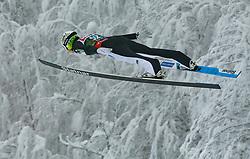Bor Pavlovcic (SLO) // Bor Pavlovcic of Slovenia flying through the air during Trial Round at Day 1 of FIS Ski World Flying Championship Planica 2020, on December 10, 2020 in Planica, Kranjska Gora, Slovenia. Photo by Vid Ponikvar / Sportida