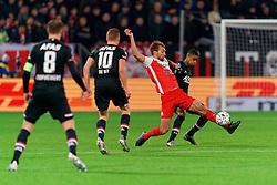 23-11-2019 NED: FC Utrecht - AZ Alkmaar, Utrecht<br /> Round 14 / Willem Janssen #14 of FC Utrecht, Myron Boadu #9 of AZ Alkmaar