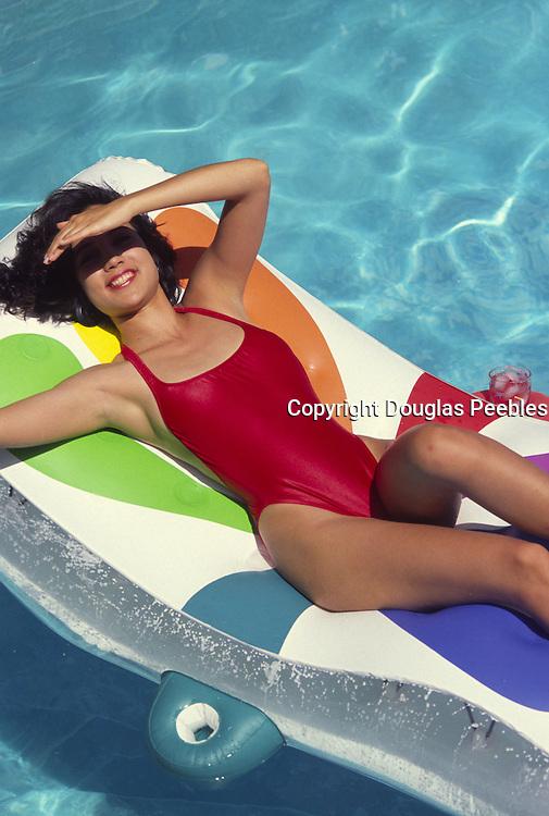 Woman in pool<br />
