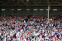 Fotball<br /> England<br /> Foto: Fotosports/Digitalsport<br /> NORWAY ONLY<br /> <br /> The travelling kop at Fulham<br /> F.A. Barclays Premiership. Fulham v Liverpool - 31.10.09