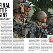 Story on the war in Kandahar, Afghanistan in MACLEAN'S Magazine.