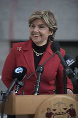US: Gloria Allred At The Bill Cosby Hearing, 2 Nov. 2016