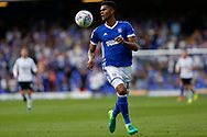 Ipswich Town defender Jordan Spence (12) during the EFL Sky Bet Championship match between Ipswich Town and Fulham at Portman Road, Ipswich, England on 26 August 2017. Photo by Phil Chaplin.