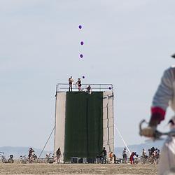 2009 Burning Man Arts & Culture Festival in Black Rock City, Nev. near the town of Gerlach...Photo by David Calvert