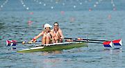 Lucerne. Switzerland,  USA2 Adrienne MARTELLI (b) , Megan KALMOE (s)  Rotsee Lake.  15:26:41  Saturday  13/07/2013  [Mandatory Credit, Peter Spurrier/ Intersport Images]