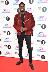 Marcel Somerville attending the BBC Radio 1 Teen Wards, at Wembley Arena, London. Picture date: Sunday October 22nd, 2017. Photo credit should read: Matt Crossick/ EMPICS Entertainment.