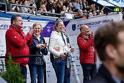 Koenle Marc, Winter-Schultze Madeleine, Arns-Krogmann Christine, Hilberath Jonny<br /> LONGINES FEI World Cup™ Finals Gothenburg 2019<br /> © Hippo Foto - Stefan Lafrentz<br /> 06/04/2019
