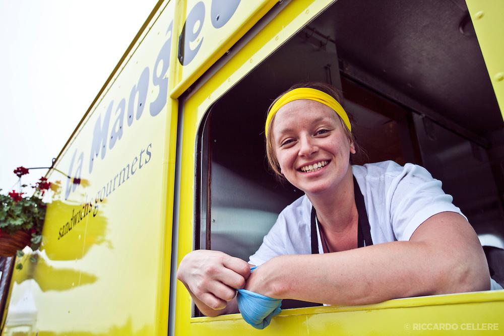la mangeoire food truck launch at Park Olympique