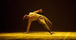 English National Ballet <br /> Triple Bill<br /> at Sadler's Wells, London, Great Britain <br /> rehearsal <br /> 7th September 2015 <br /> <br /> Dust<br /> by Akram Khan <br /> <br /> James Streeter <br /> <br /> <br /> <br /> Photograph by Elliott Franks <br /> Image licensed to Elliott Franks Photography Services
