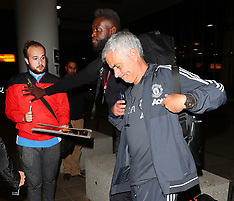 Manchester: Players arriving back from Dublin match - 3 Aug 2017