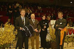 Commissie selektie Paard vh Jaar<br />KWPN hengstenkeuring 2003<br />Photo © Dirk Caremans
