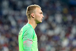 June 4, 2018 - Turin, Piedmont, Italy - Jasper Cillessen (Holland) during the friendly football match between Italy and Holland at Allianz Stadium on June 04, 2018 in Turin, Italy. Final result: 1-1  (Credit Image: © Massimiliano Ferraro/NurPhoto via ZUMA Press)