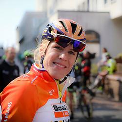 BORKUM (GER) wielrennen <br /> De slotetappe van de Energiewachttour 2016 werd verreden op het Duitse Waddeneiland Borkum. Ellen van Dijk pakte voor de tweede keer de eindwinst in de Energiewachttour