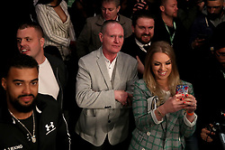 Paul Gascoigne in the crowd at the Principality Stadium, Cardiff.
