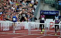 Friidrett , 15. juni 2017 ,  Diamond League , Bislett Games<br /> Karsten Warholm , Norge , winner 400 m h
