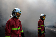 Firemen are attending the demonstration.