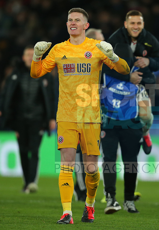 Sheffield United's goalkeeper Dean Henderson after the Premier League match at Selhurst Park, London. Picture date: 1st February 2020. Picture credit should read: Paul Terry/Sportimage