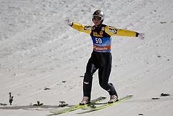 06.01.2012, Paul Ausserleitner Schanze, Bischofshofen, AUT, 60. Vierschanzentournee, FIS Ski Sprung Weltcup, 1. Wertungssprung, im Bild Thomas Morgenstern (AUT) // Thomas Morgenstern of Austria during 1st Round of 60th Four-Hills-Tournament FIS World Cup Ski Jumping at Paul Ausserleitner Schanze, Bischofshofen, Austria on 2012/01/06. EXPA Pictures © 2012, PhotoCredit: EXPA/ Johann Groder