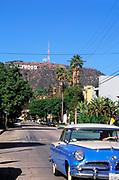 Hollywood Sign, Beachwood Drive, Los Angeles, California (LA)